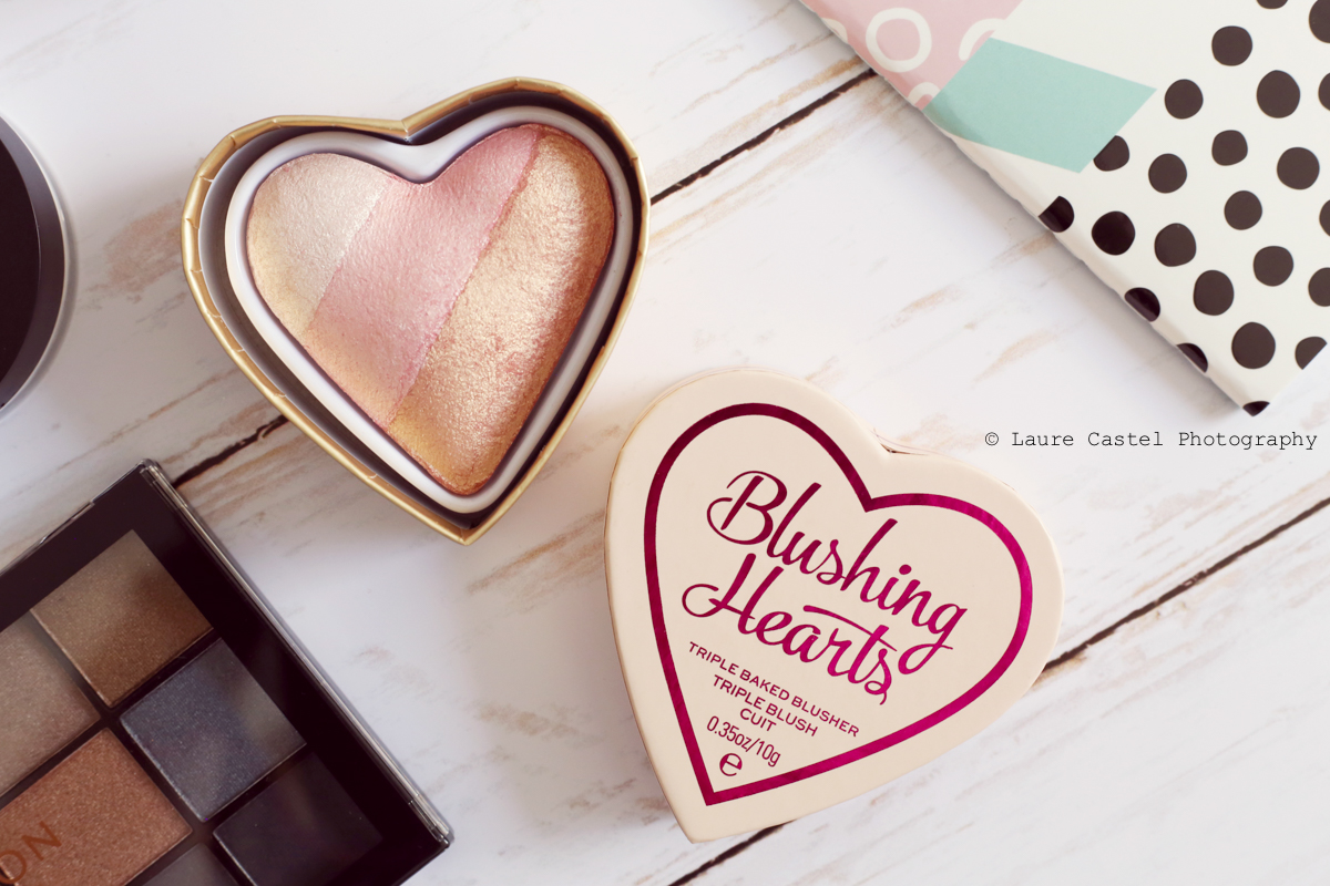 I Heart Revolution Blushing Hearts teinte Iced Hearts make-up | Les Petits Riens
