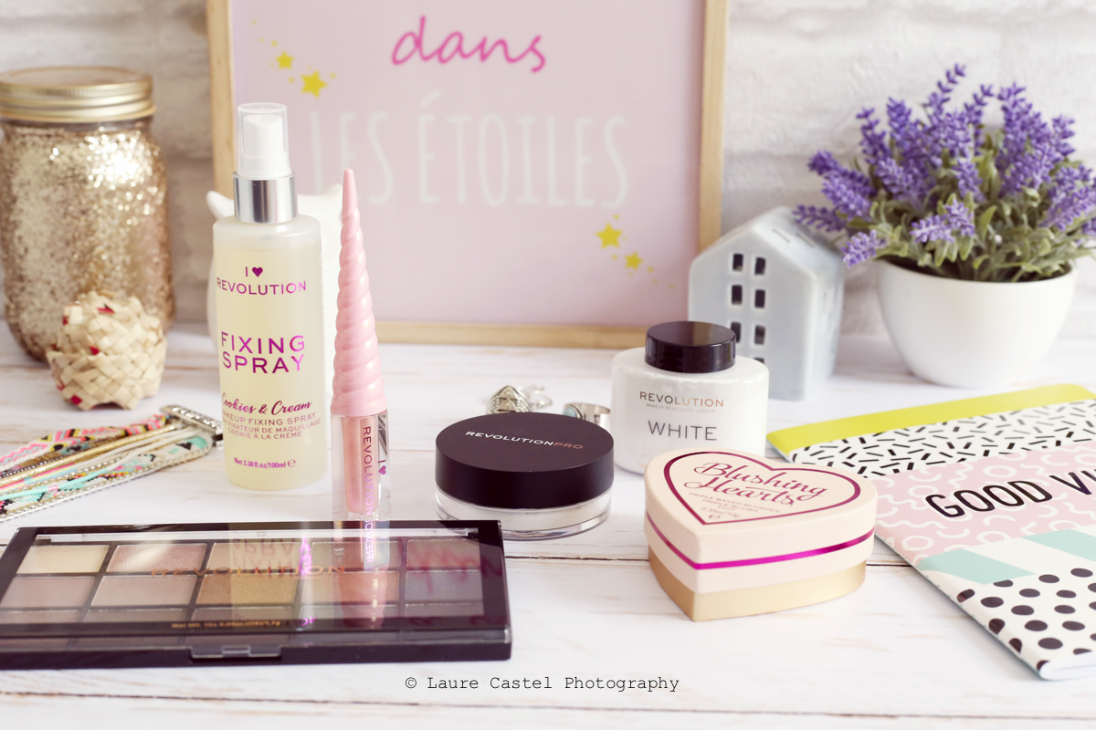 Maquillage Make Up Revolution I Heart Revolution | Les Petits Riens