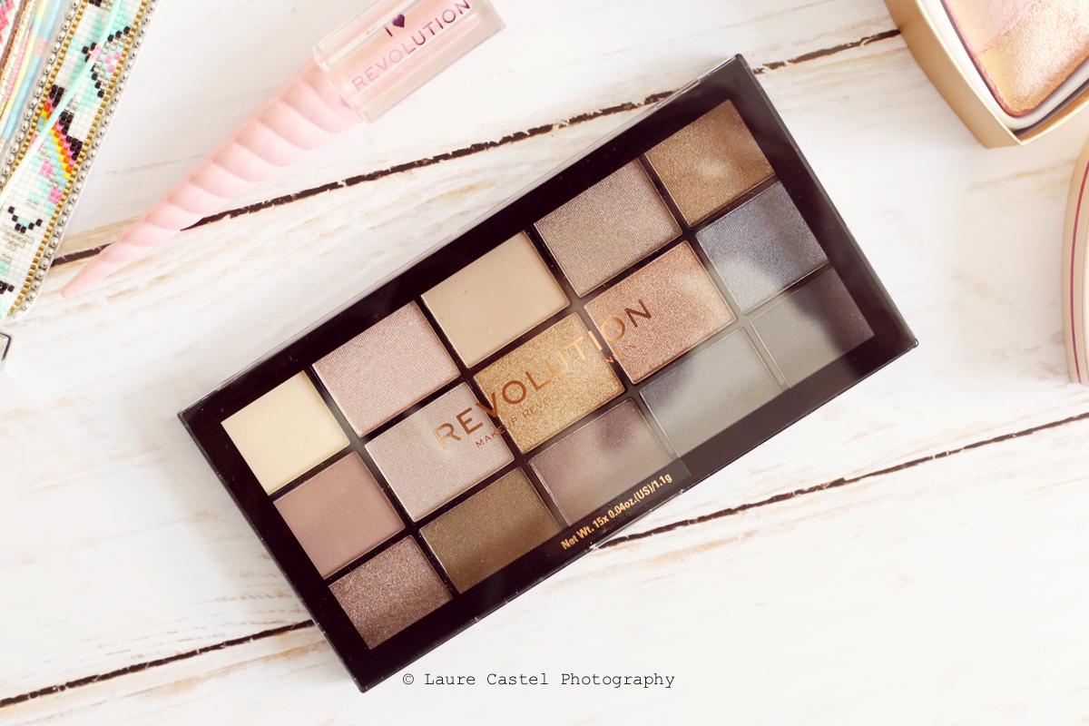 Makeup Revolution Reloaded palette de fards à paupières teinte Smoky Neutrals | Les Petits Riens