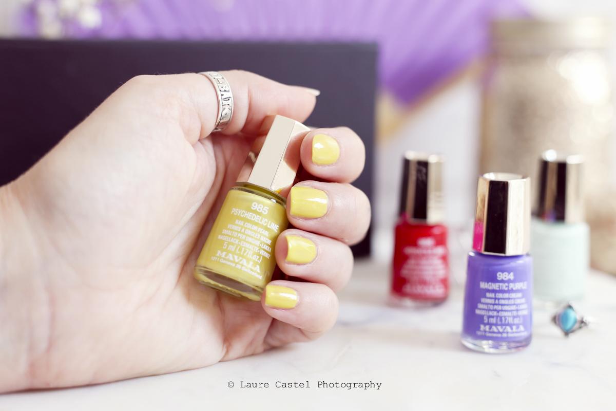 Psychedelic Lime Dash & Splash color's de Mavala | Les Petits Riens