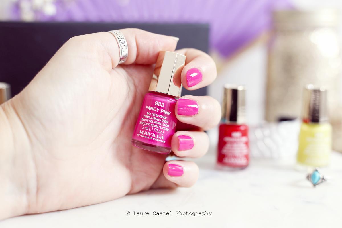 Fancy Pink Dash & Splash color's de Mavala | Les Petits Riens