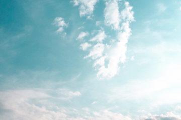 Vacances été ciel bleu | Les Petits Riens