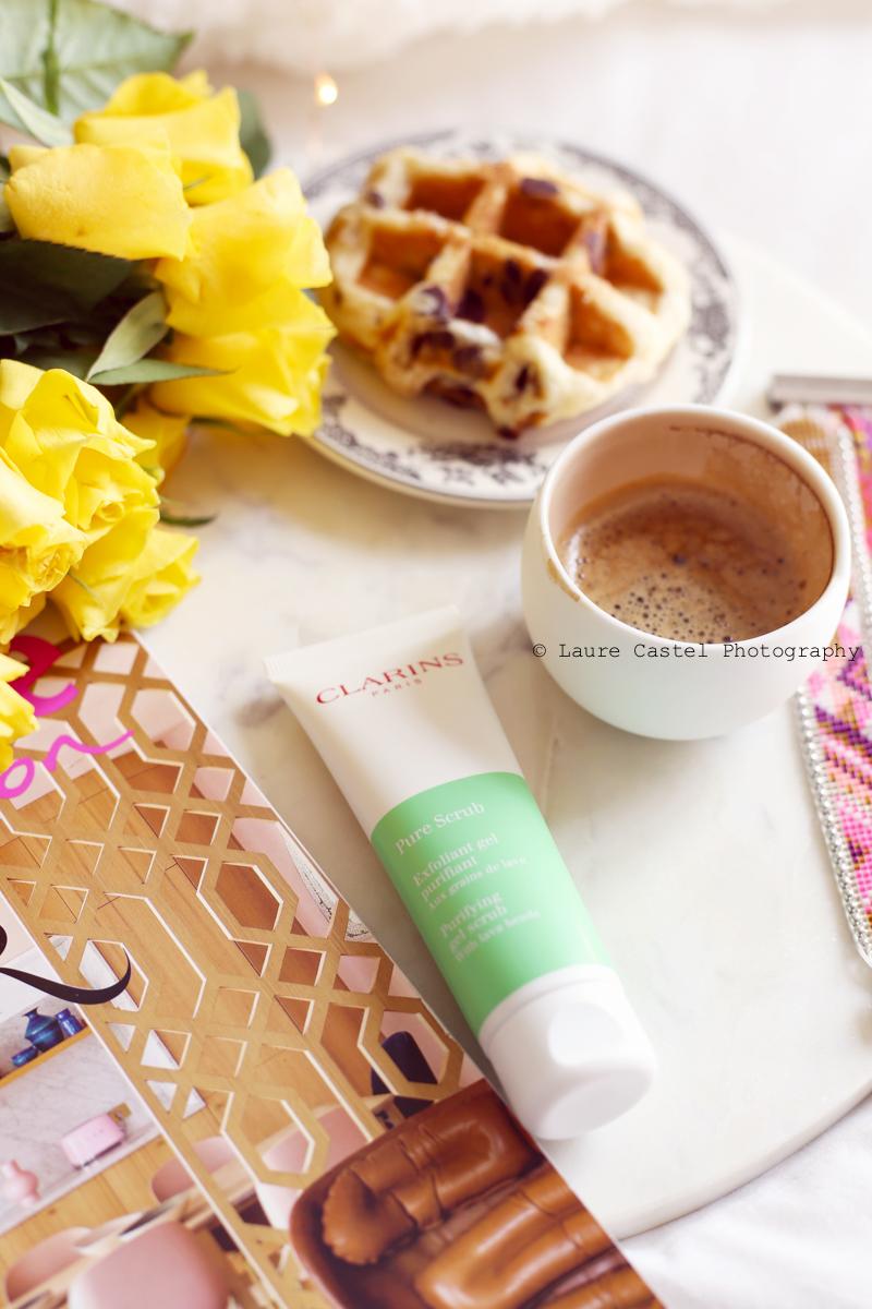 Clarins exfoliant Pure Scrub test & avis | Les Petits Riens