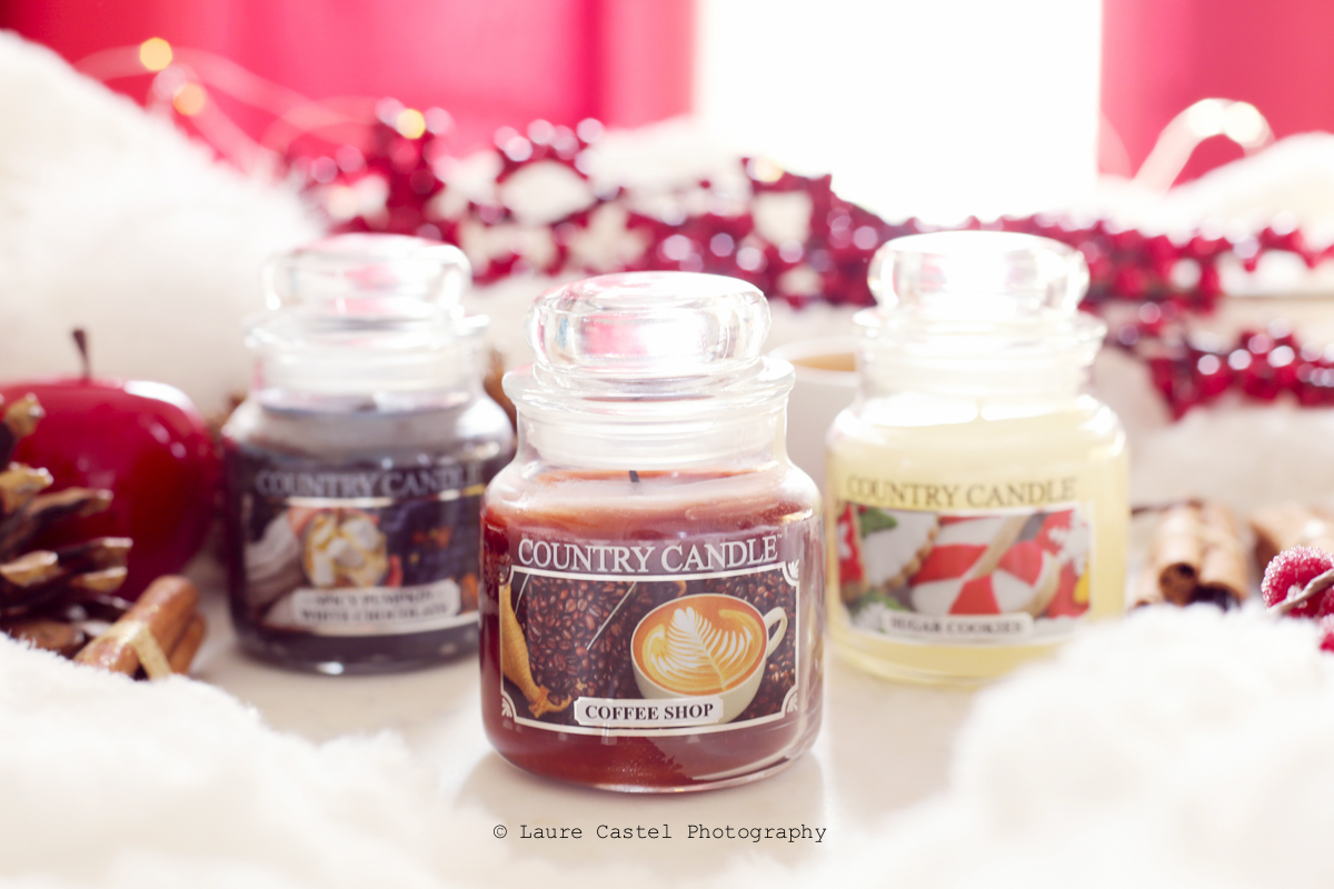 Bougie jar Country Candle Coffee Shop | Les Petits Riens