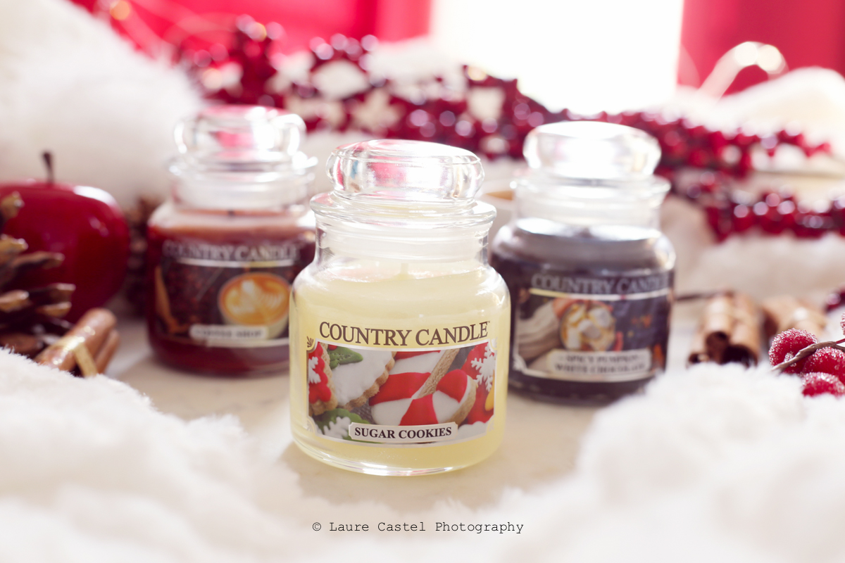 Bougie jar Country Candle Sugar Cookie | Les Petits Riens