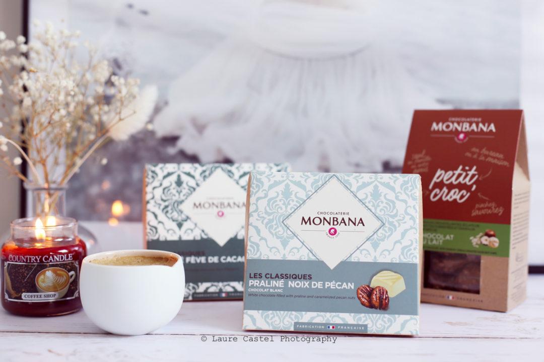 Chocolat Monbana les classiques praliné noix de pécan | Les Petits Riens