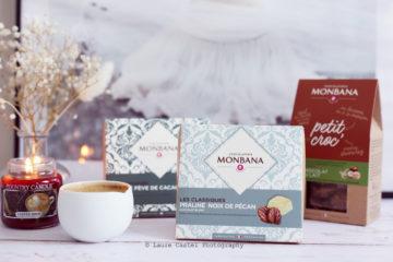 Chocolat Monbana les classiques praliné noix de pécan   Les Petits Riens
