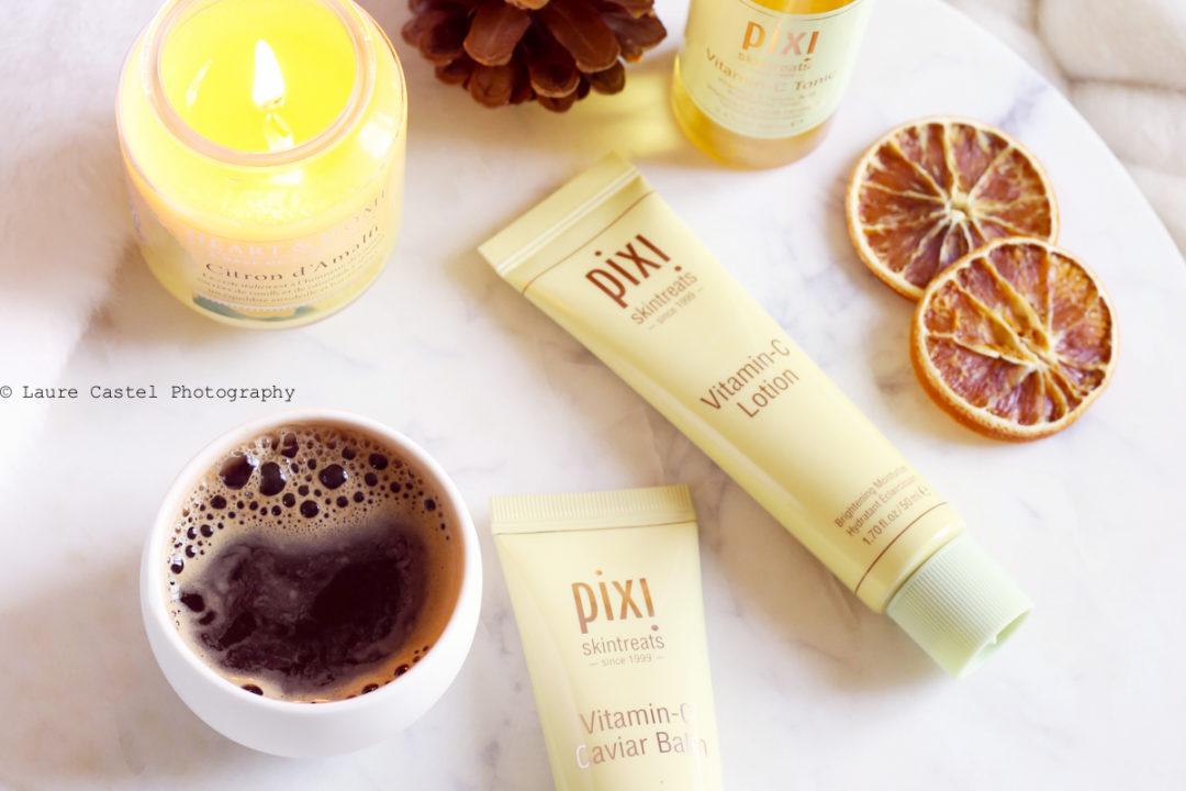 Pixi Vitamin-C lotion & caviar baum | Les Petits Riens