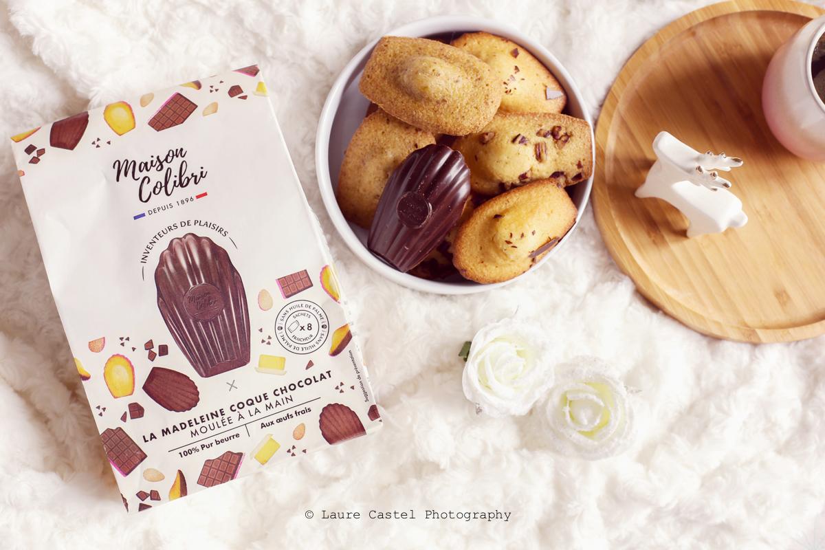 Madeleine Coque Chocolat Maison colibri | Les Petits Riens