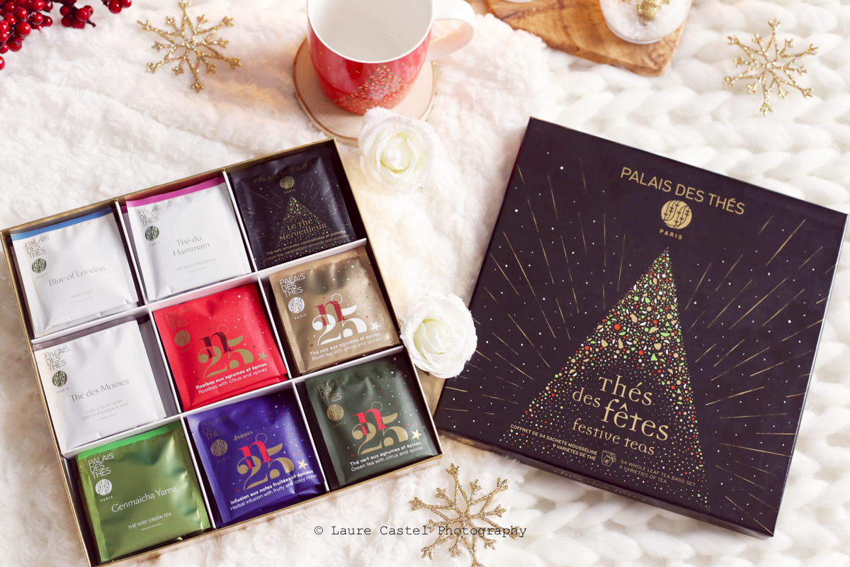 Palais des thés boîte thés des fêtes 2019 | Les Petits Riens