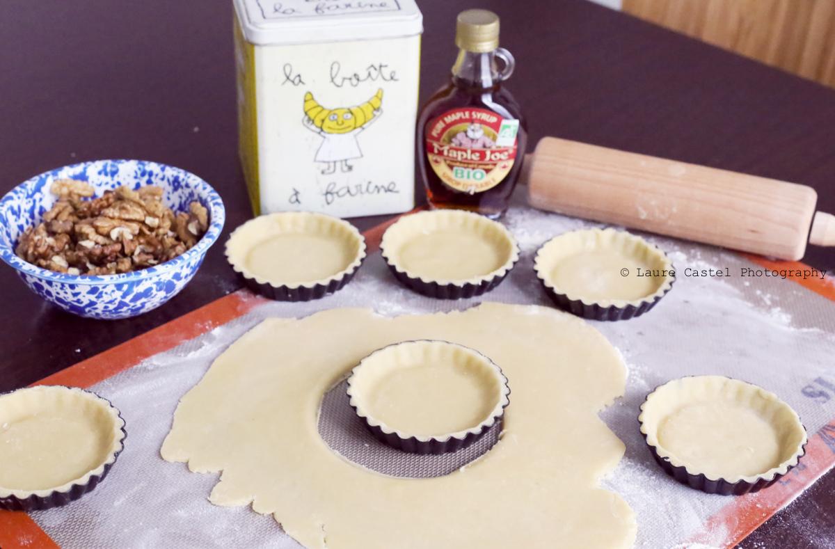 Tartelette aux noix pâte brisée maison | Les Petits Riens