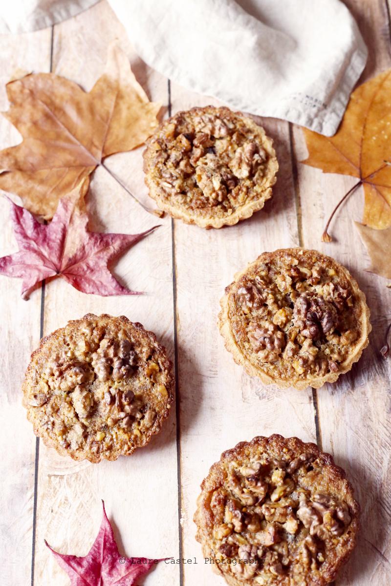 Tartelette aux noix & sirop d'érable | Les Petits Riens