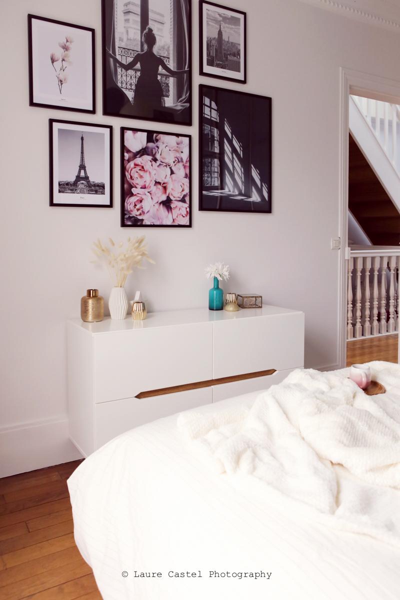 Chambre design scandinave mur | Les Petits Riens