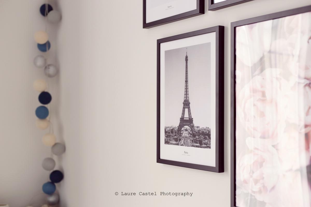 Chambre mur de photos | Les Petits Riens