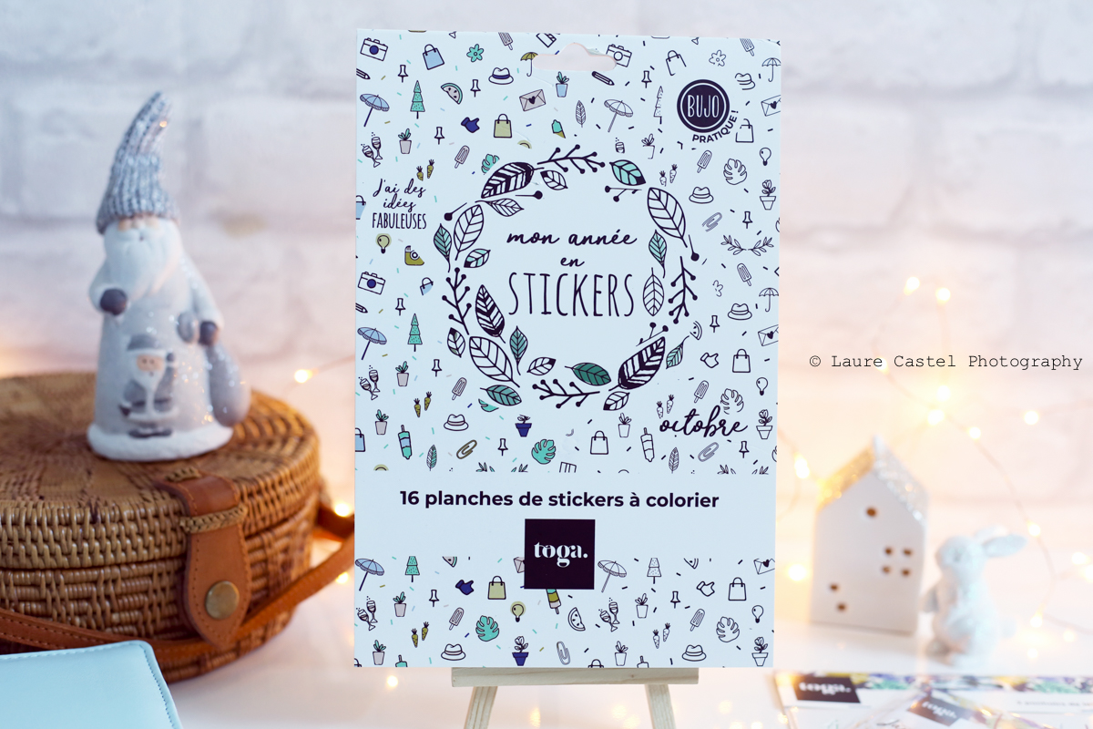 Bullet Journal stickers Toga | Les Petits Riens