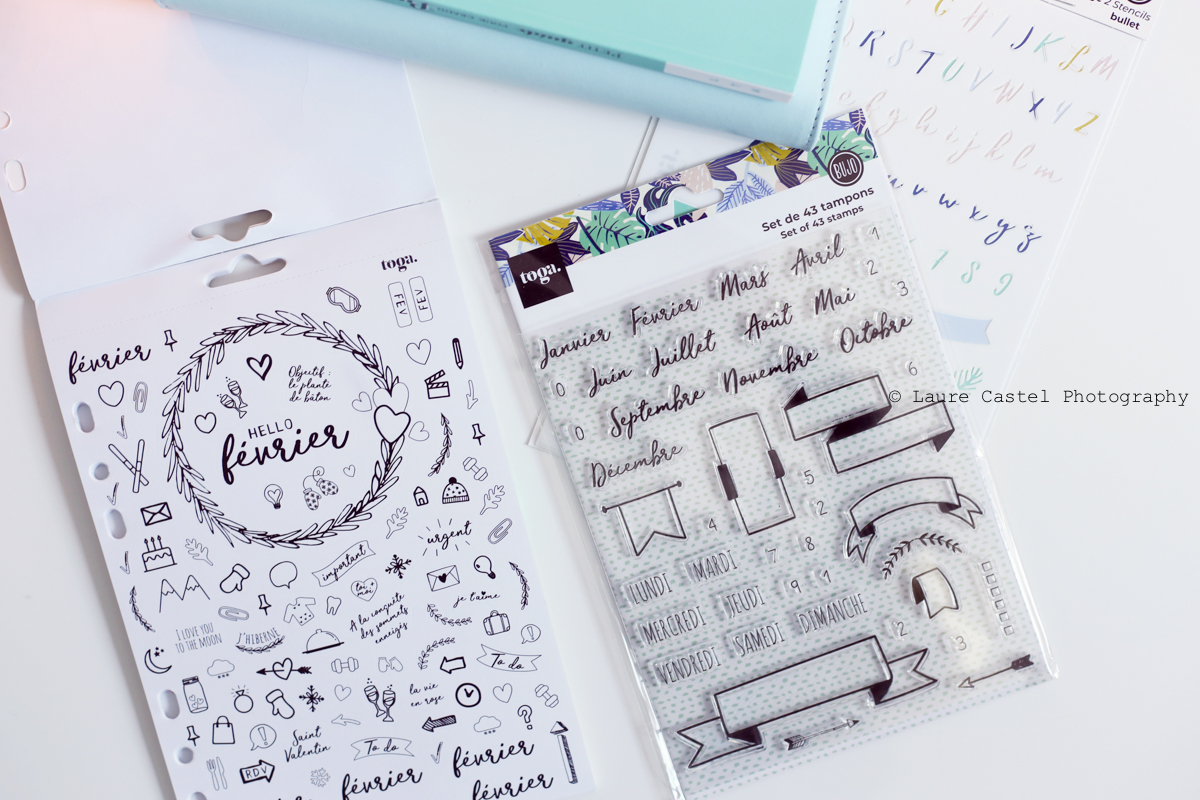 Bullet Journal stickers et tampons Toga | Les Petits Riens