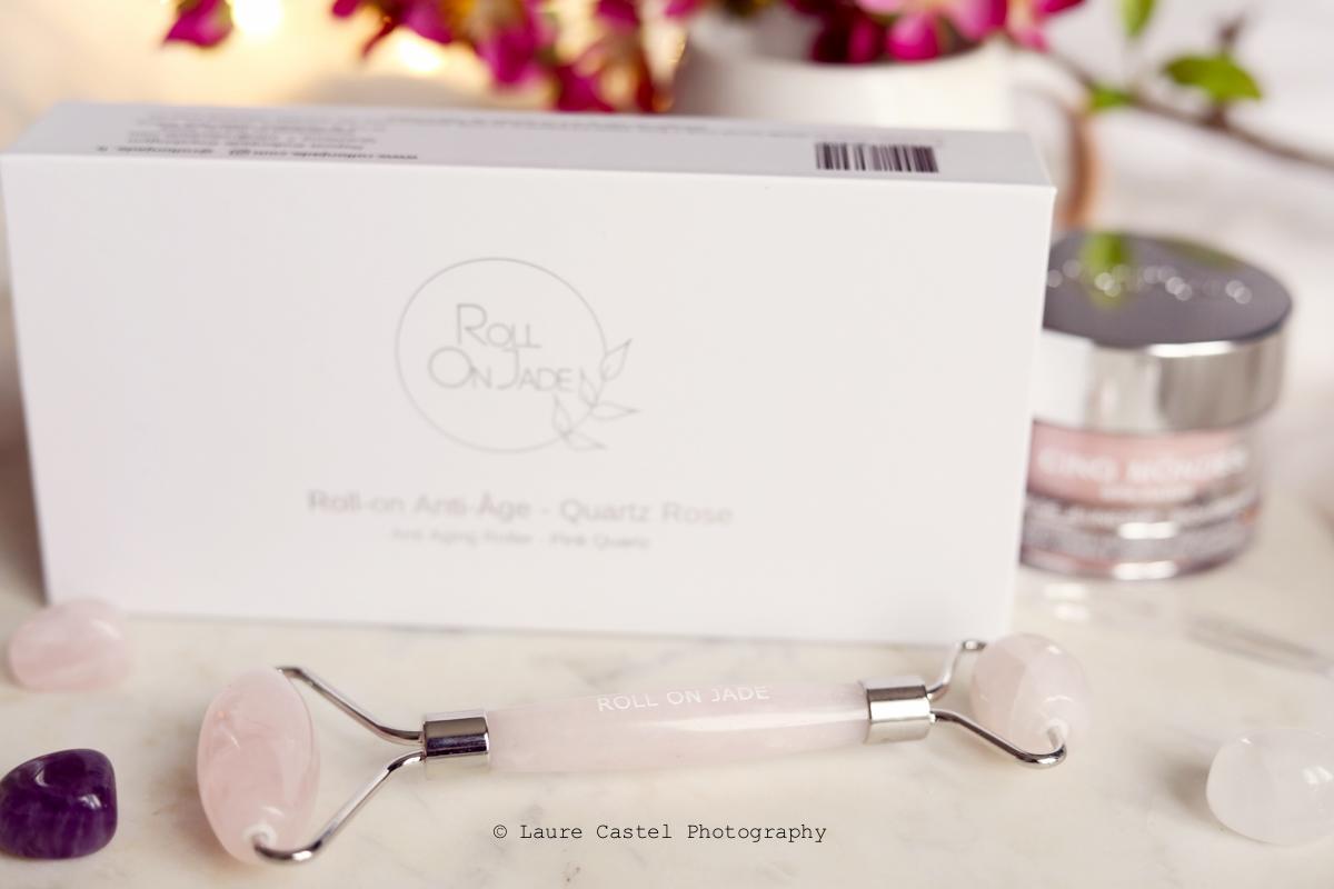 Lithothérapie Roll-on Jade quartz rose | Les Petits Riens