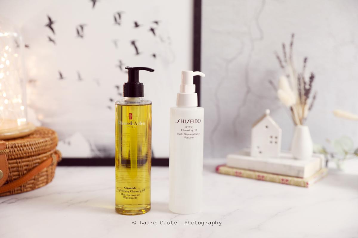 Battle Huiles démaquillantes Shiseido vs Elizabeth Arden | Les Petits Riens