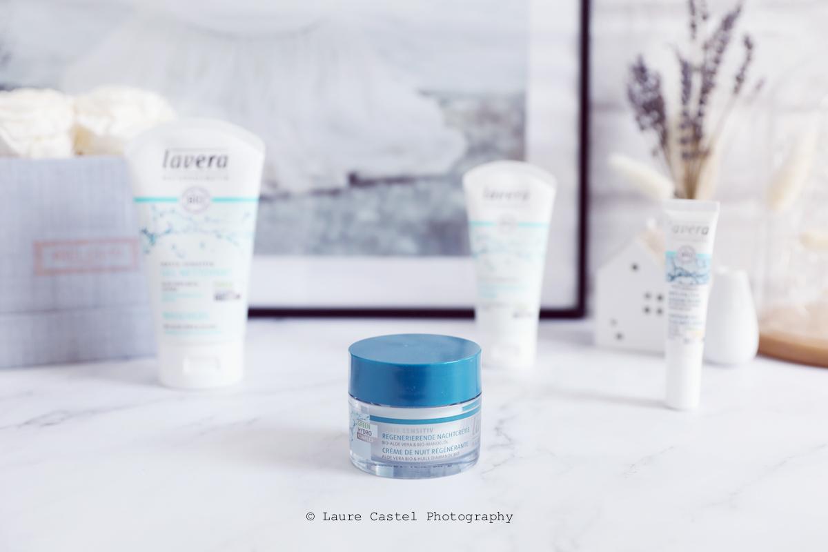 Crème de nuit Basis Sensitiv de Lavera | Les Petits Riens
