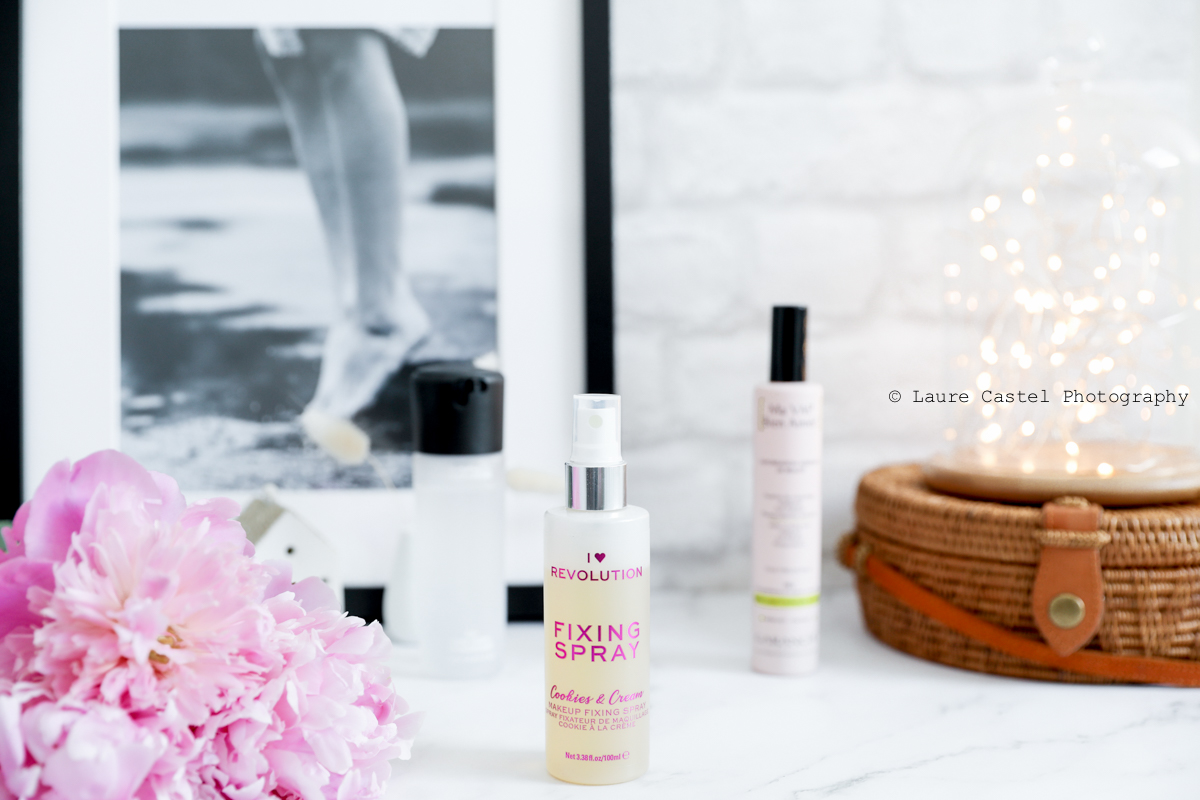 I Heart Revolution Fixing Spray spray fixateur de maquillage | Les Petits Riens