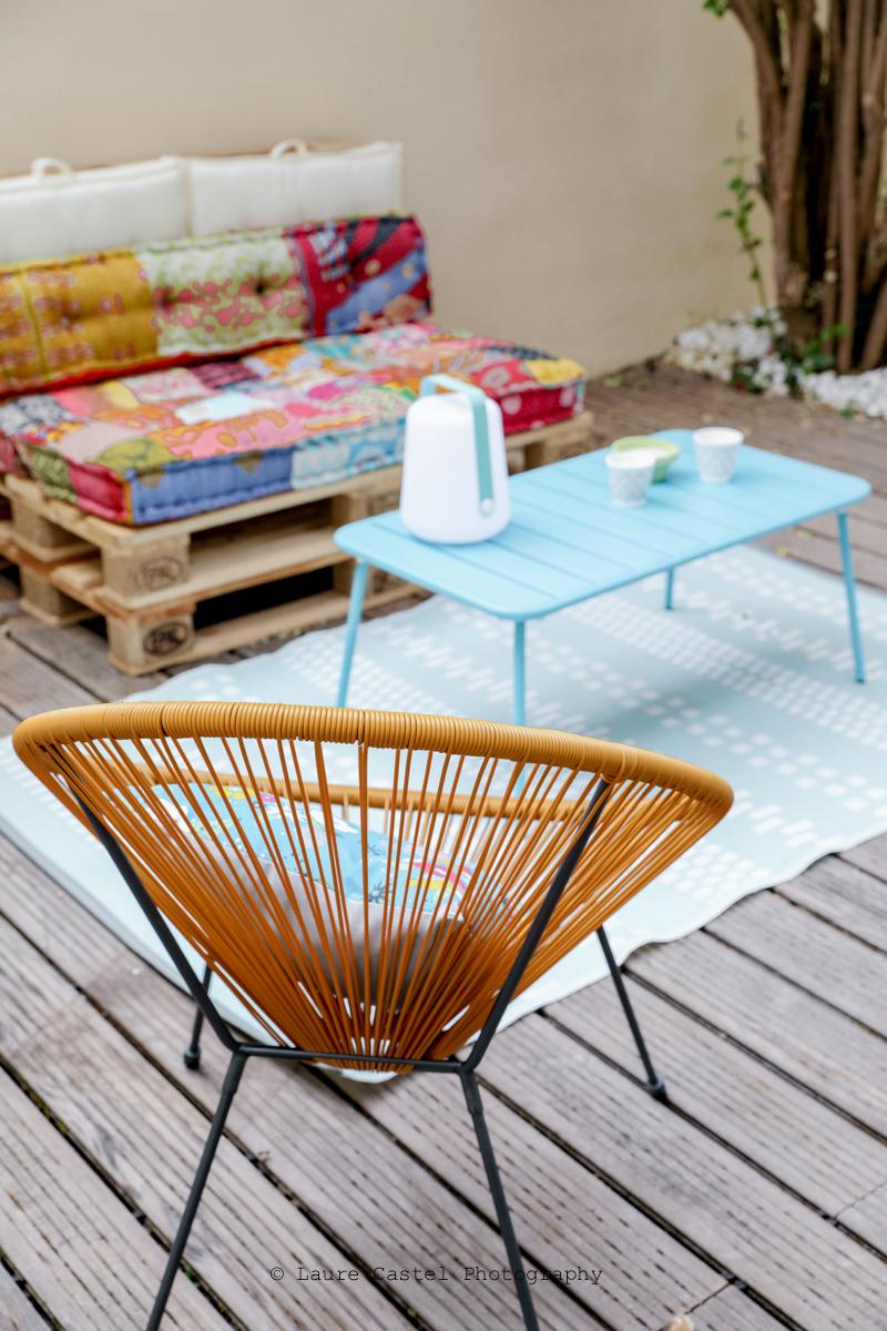 Décoration style boho pour terrasse | Les Petits Riens