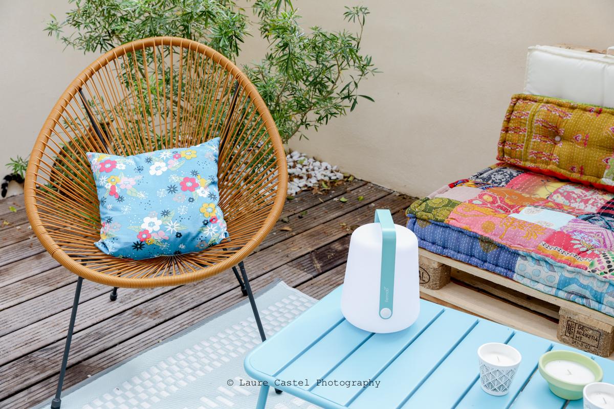 Décoration bohème pour terrasse | Les Petits Riens