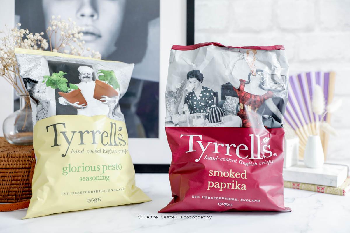 Chips Tyrell's Glorious Pesto & Smoked Paprika | Les Petits Riens