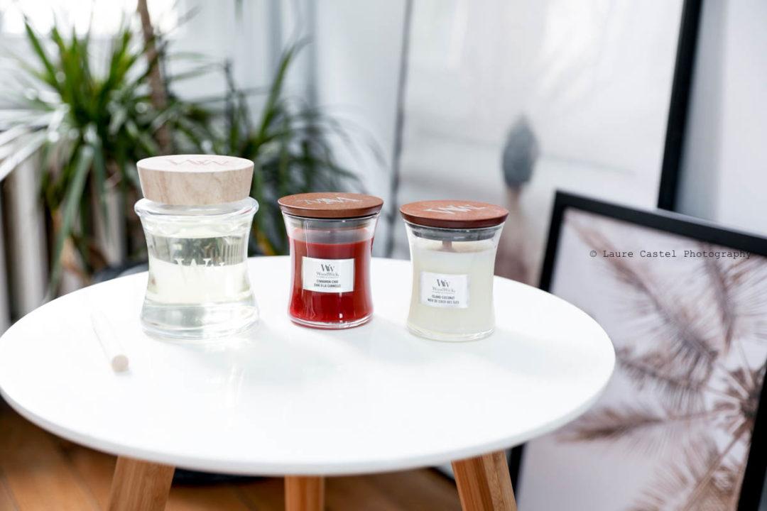 Bougies Woodwick cire de soja | Les Petits Riens