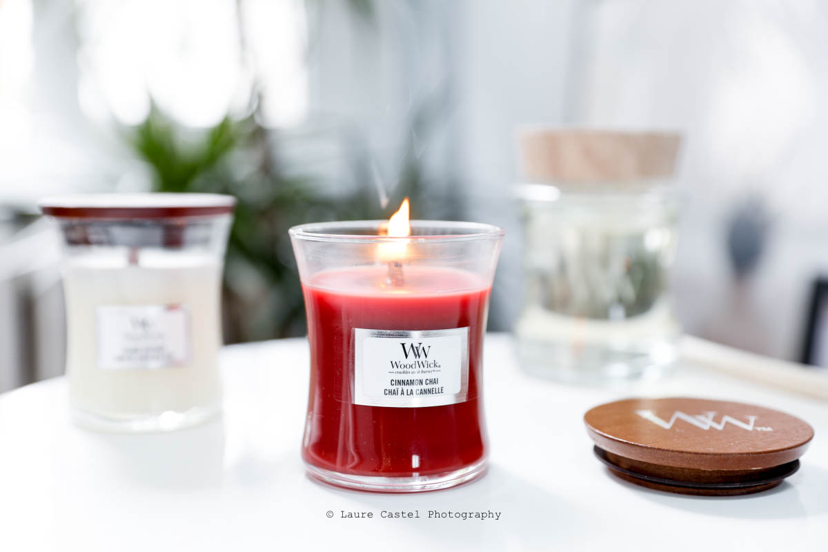 Bougies Woodwick Cinnamon Chai | Les Petits Riens