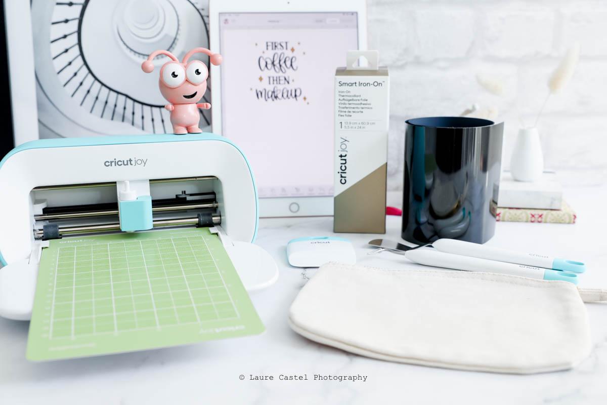 DIY Cricut Joy thermocollant Smart Iron-on | Les Petits Riens