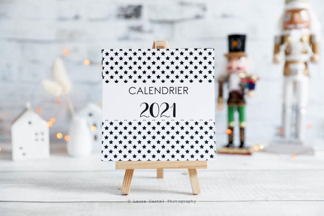 Calendrier 2021 à imprimer gratuit | Les Petits Riens