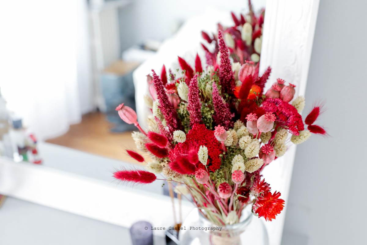 Bouquet de fleurs séchées Interflora | Les Petits Riens
