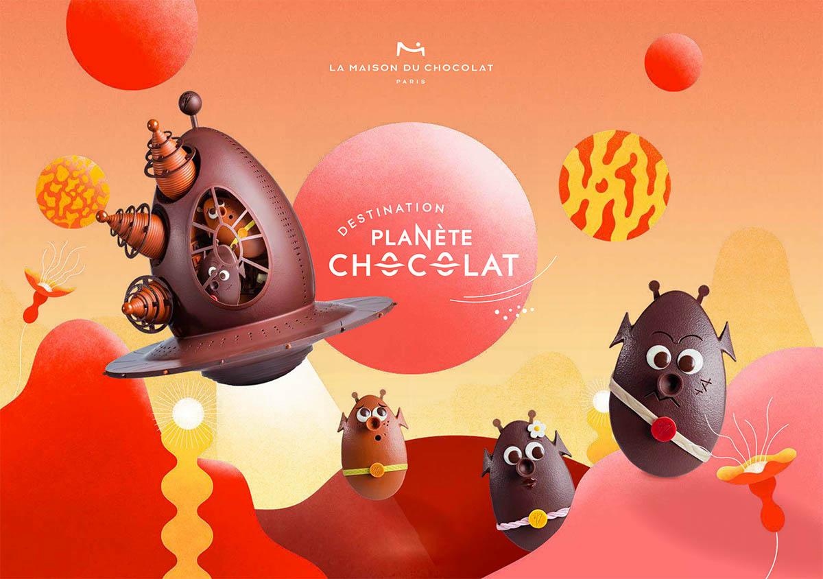 La Maison du Chocolat Pâques 2021   Les Petits Riens