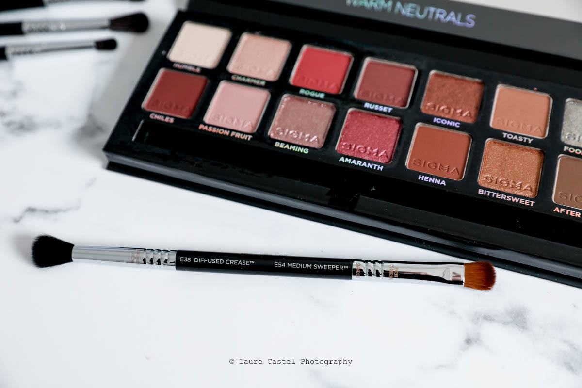 Sigma Beauty Warm Neutrals Eyeshadow Palette | Les Petits Riens