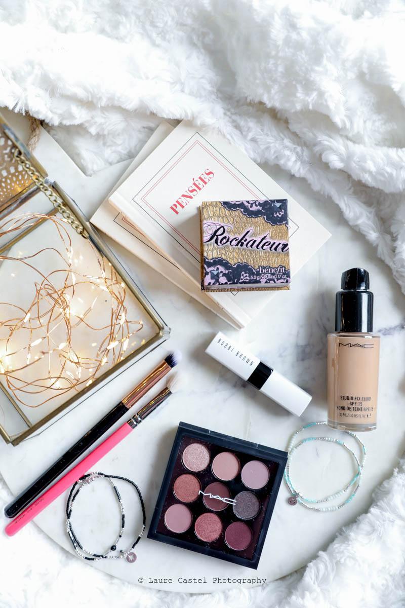 MAC Cosmetics palette de fards à paupières teinte Burgundy Times Nine | Les Petits Riens