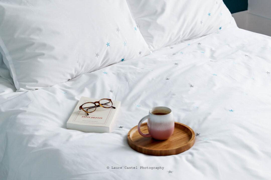 Blanc Cerise linge de maison de qualité haut de gamme et responsable | Les Petits Riens