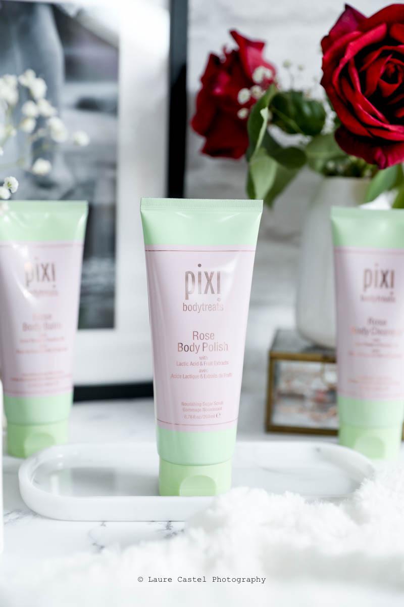 Pixi Bodytreats Rose Body Polish | Les Petits Riens
