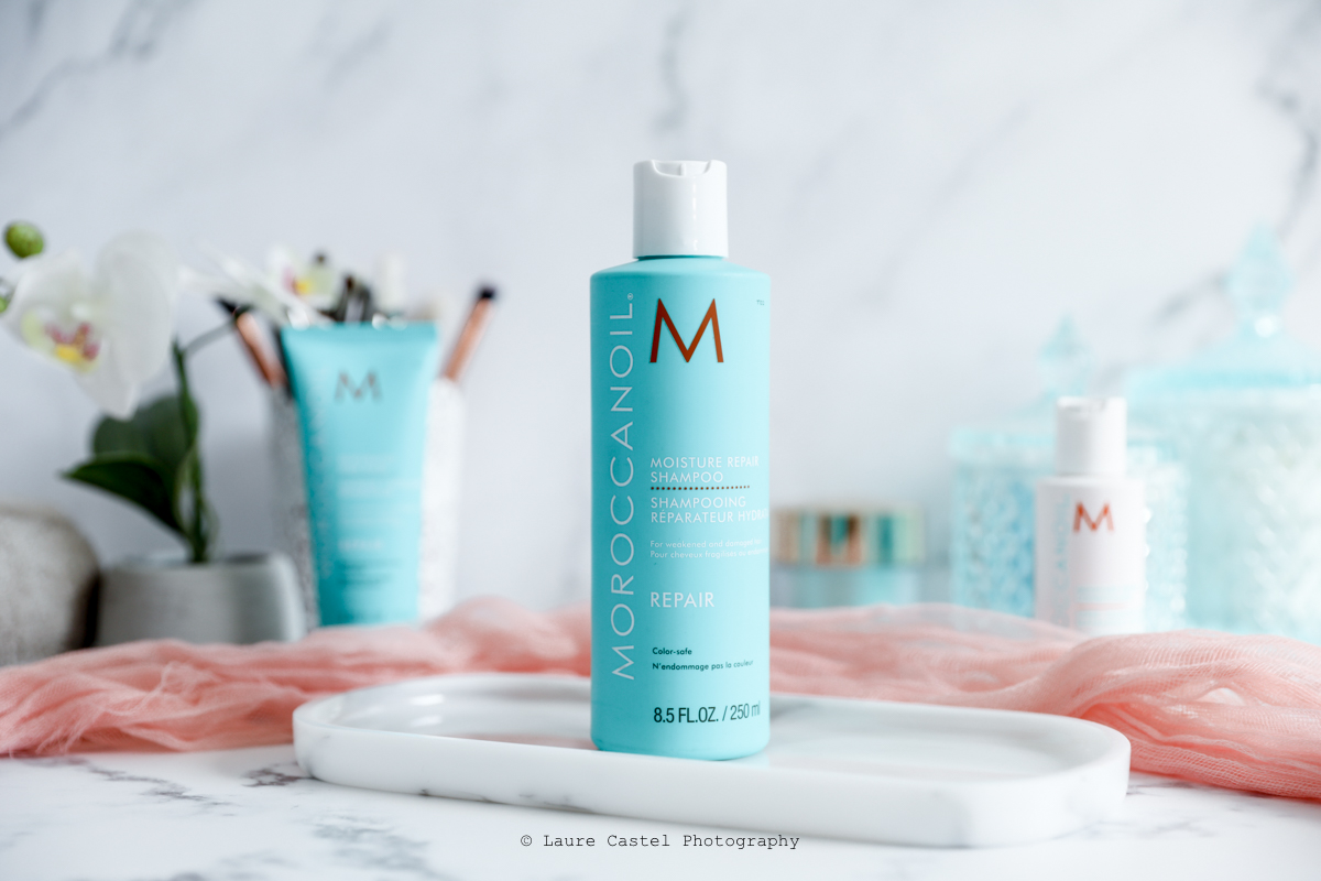 Moroccanoil Repair shampoing pour cheveux abîmés | Les Petits Riens