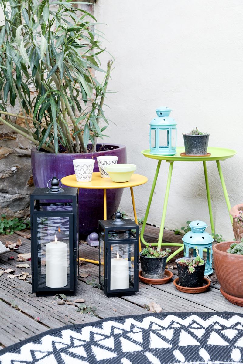 Lanternes lumineuses pour terrasse   Les Petits Riens