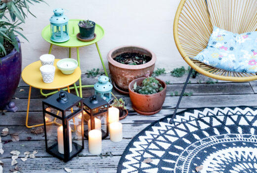 Décoration lumineuse pour terrasse boho | Les Petits Riens